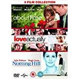About Time Filmer About Time / Love Actually / Notting Hill (Triple Pack) [DVD]