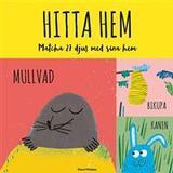 Hitta hem: matcha 27 djur med sina hem (memoryspel) (Övrigt format, 2017)