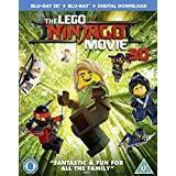 Ninjago dvd Filmer The Lego Ninjago Movie [3D Blu-ray]