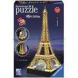 3D-pussel Ravensburger Eiffeltornet med ljus