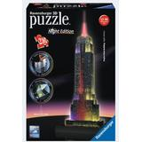 3D-pussel Ravensburger Empire State Building at Night 216 Pieces