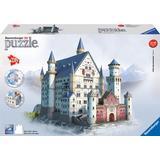 3D-pussel Ravensburger Neuschwanstein Castle