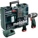 Borrmaskiner & Skruvdragare på rea Metabo PowerMaxx BS Basic Set