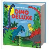 Dino deluxe: det bästa ur Massor av dinosaurier + Varning för köttgänget (Inbunden, 2018)