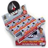 Squashbollar Karakal Double Yellow Dot 12-pack