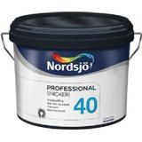 Målarfärg Nordsjö 40 Professional Carpentry Träfärger Vit 2.5L