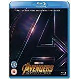 Avengers: Infinity War Blu-ray Avengers Infinity War [Blu-ray] [2018] [Region Free]