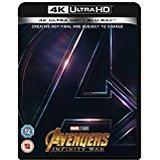 Avengers: Infinity War Blu-ray Avengers Infinity War [Blu-ray 4K] [2018] [Region Free]