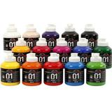A Color Acrylic Paint Glossy 01 15x500ml