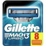 Rakningstillbehör Gillette Mach3 Turbo 8-pack
