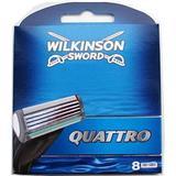 Rakblad & Rakbladskassetter Wilkinson Sword Quattro 8-pack
