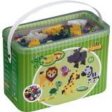 Pärlor Hama Maxi Beads & Pegboards in Bucket 8804
