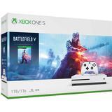 Spelkonsoler Microsoft Xbox One S 1TB - Battlefield V