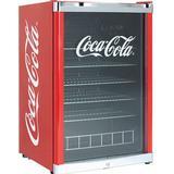 Minikylskåp Scandomestic Coca Cola High Cube Röd