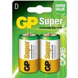 Batterier & Laddbart GP Batteries D Super Alkaline Compatible 2-pack