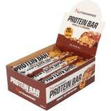 Bars Kosttillskott Nutramino Proteinbar Crispy Vanilla Caramel 64g 12 st