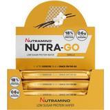 Bars Kosttillskott Nutramino Nutra-Go Protein Wafer Vanilla 39g 12pcs 12 st