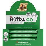 Bars Kosttillskott Nutramino Nutra-Go Protein Wafer Hazelnut 39g 12 st
