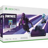 Spelkonsoler Microsoft Xbox One S 1TB - Fortnite Limited Edition