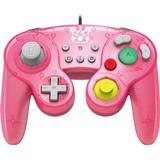 Super smash bros kontroll Spelkontroller Hori Battle Pad - Pink