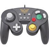Super smash bros kontroll Spelkontroller Hori Zelda Battle Pad - Black