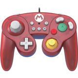 Super smash bros kontroll Spelkontroller Hori Mario Battle Pad - Red/Blue
