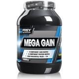Kosttillskott Frey Nutrition Mega Gain Vanilla 1000g