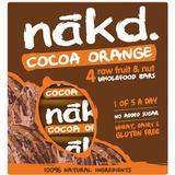 Nakd Cocoa Orange 4x35g 4 st