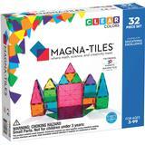 Magna-Tiles Clear Colors 3D Magnetic Building Tiles 32pcs