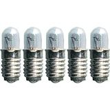 Star Trading 387-55 Incandescent Lamps 0.6W E5 5-pack