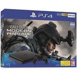 Spelkonsoler Sony PlayStation 4 Slim 500GB - Call of Duty: Modern Warfare Bundle