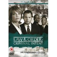 Law & order: Criminal intent - Season 4 (5-disc)