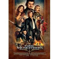 De tre musketörerna (Blu-ray 3D 2012)