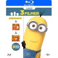 Minioner Box - 3 filmer (Blu-Ray 2015)