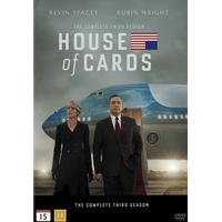 House of cards: Säsong 3 (4DVD) (DVD 2015)