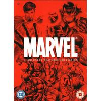 Marvel: 4 Animated features collection (4-disc)
