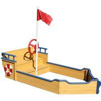 jabo sandlåda båt