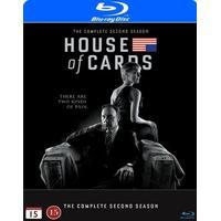 House of cards: Säsong 2 (4Blu-ray) (Blu-Ray 2014)