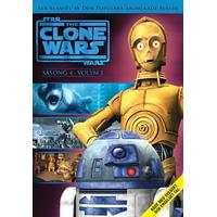 Star Wars: The clone wars / Säsong 4:1 (DVD) (DVD 2012)