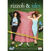 Rizzoli & Isles: Säsong 4 (4DVD) (DVD 2014)