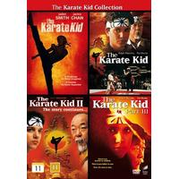 Karate Kid 1-4 Collection (4DVD) (DVD 2014)