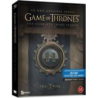 Game of thrones: Säsong 3 - Steelbook (5Blu-ray) (Blu-Ray 2013)