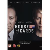 House of cards: Säsong 4 (4DVD) (DVD 2016)