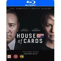 House of cards: Säsong 4 (4Blu-ray) (Blu-Ray 2016)