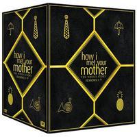 How I met your mother: Säsong 1-9 (28DVD) (DVD 2014)