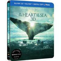 In the heart of the sea 3D: Steelbook (Blu-ray 3D + Blu-ray) (3D Blu-Ray 2015)