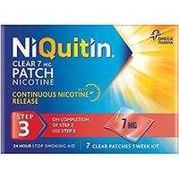 niquitin clear depotplåster