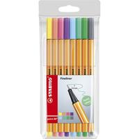 Stabilo Point 88 Fineliner Pastel 8-pack