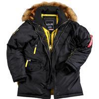 Alpha Industries PPS N3B Wmn Jacket Black