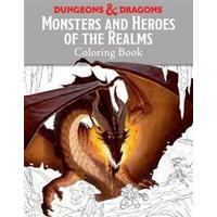 Monsters and Heroes of the Realms: A Dungeons & Dragons Coloring Book (Häftad, 2016)